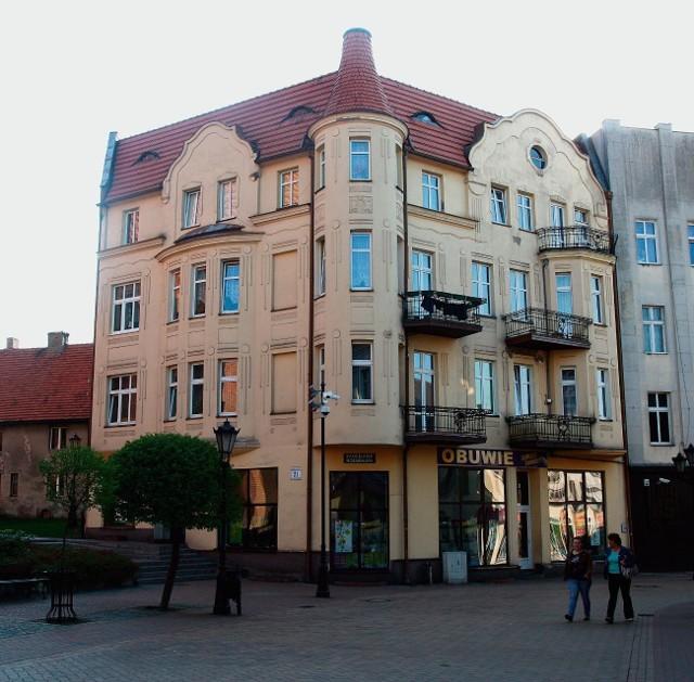 Kamienica przy ulicy Kościuszki 21 w Chojnicach