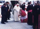 Jan Paweł II w Zamościu. W setną rocznicę urodzin, przypominamy wizytę Papieża w Zamościu. Zobaczcie zdjęcia świadka wydarzeń