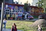 Wypadek na ulicy Piekarskiej w Jarosławiu. Dwie nastolatki potrącone przez samochód