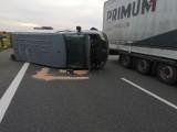 Wypadek busa z obcokrajowcami na A2. Wielu poszkodowanych- AKTUALIZACJA!