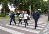 Bezpieczna droga do szkoły: mundurowi z KPP w Pucku przypominali o bezpieczeństwie