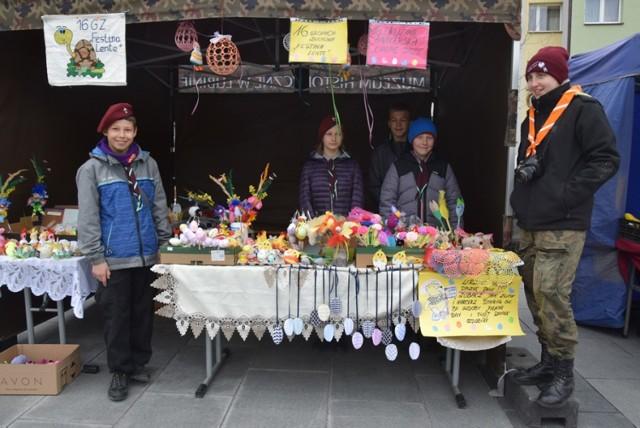 Kiermasz Wielkanocny na lubińskim rynku