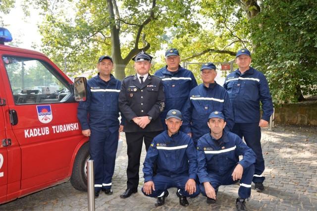 Strażacy z Ukrainy w Opolu