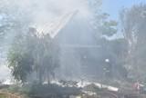 Gmina Czermin. W pożarze w Mamotach ucierpiał 38-letni mężczyzna