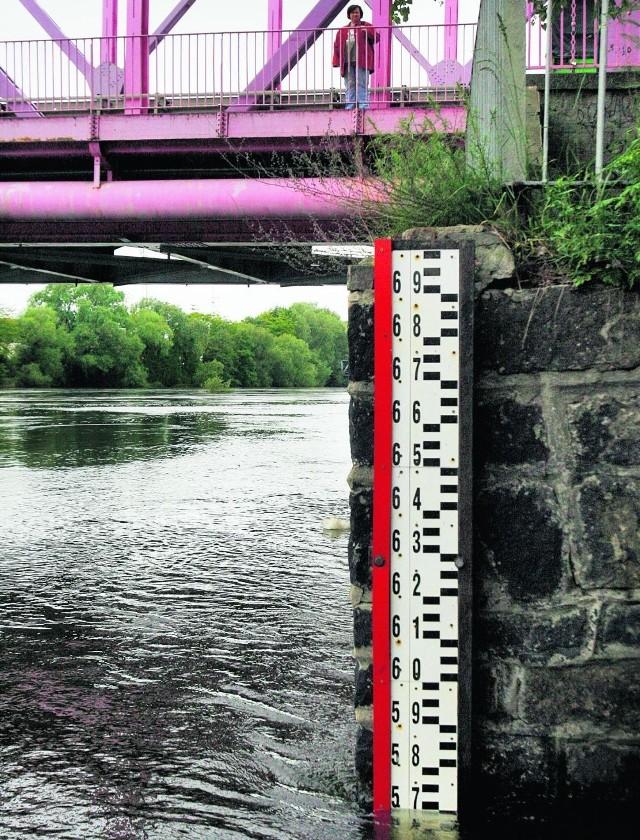 Mieszkańcy regionu legnickiego cały czas kontrolowali rzeki