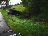Pijany kierowca mógł doprowadzić do tragedii w Strupinie Łanowym w pow. chełmskim. W aucie, z którym się zderzył, były małe dzieci. Zobacz