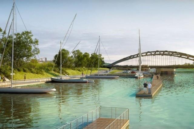 W rejonie Zabłocia ma powstać marina z portem dla jachtów i innych jednostek pływających. Koszt przedsięwzięcia to ok. 50 mln zł.
