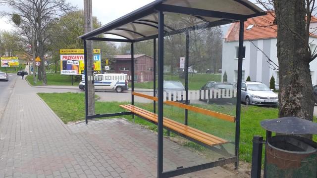 W Chełmnie przybędzie przystanków. Będą służyły komunikacji miejskiej, jak i międzymiastowej. Na zdjęciu: przystanek przy ul. Łunawskiej