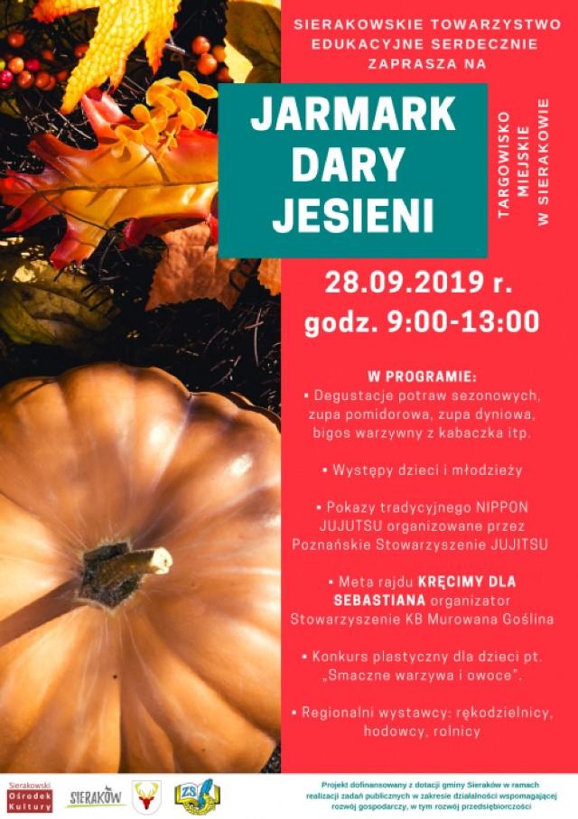 Jarmark Dary Jesieni w Sierakowie