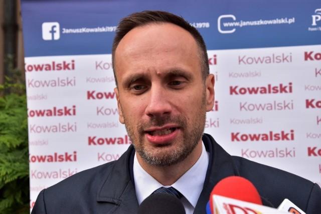 Janusz Kowalski, wiceminister aktywów państwowych.