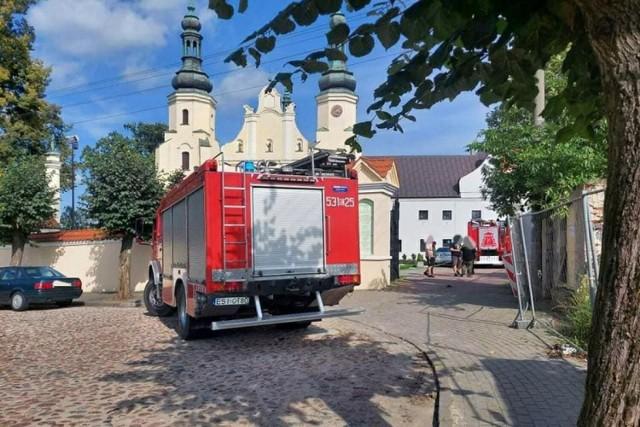 Podpalacz konfesjonału w  kościele bernardynów w Warty zatrzymany!
