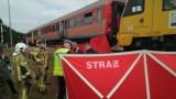 Wypadek na przejeździe kolejowym we Władysławowie: zginął mężczyzna