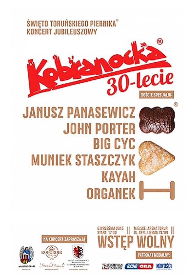 30-lecie Kobranocki. Zapraszamy na wyjątkowy koncert
