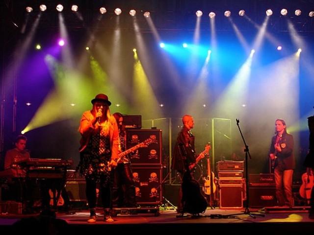 Koncert Maryli Rodowicz na plenerowej imprezie Studio Lato Radia Białystok w Białymstoku / 24.05.2009 (fot. Krystian Różycki)