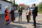 Gmina Lubin przekazała sprzęt dla ratowników medycznych