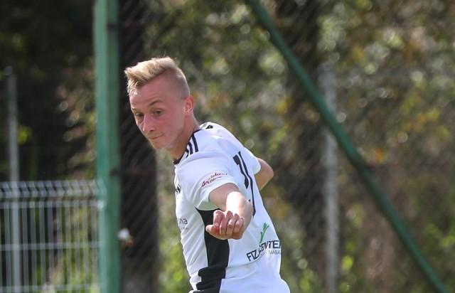 Konrad Kuliszewski - MVP Bocheńskiej Ligi Futsalu - jest też zawodnikiem IV-ligowych Wiślan Jaśkowice