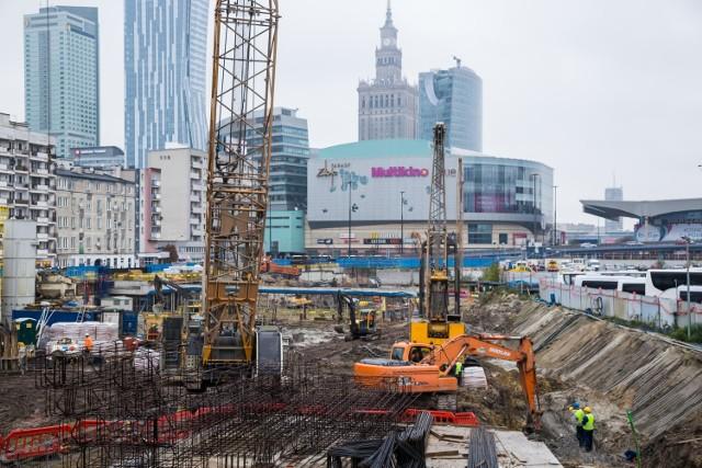 Varso. Powstaje najwyższy wieżowiec w Polsce. Sprawdzamy, co dzieje się na budowie [ZDJĘCIA]