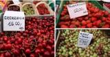 Ile kosztują owoce i warzywa na targowisku w Katowicach? Sprawdziliśmy CENY. Wciąż drożeją truskawki