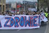 """Manifestacja pod hasłem: """"Dość umierania w kolejkach do leczenia!"""""""