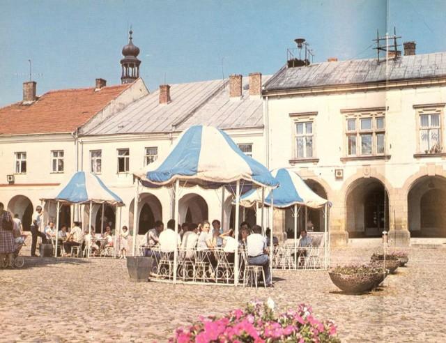 Dzień wolny od pracy, Krosno, Rynek, l. 80. XX w.