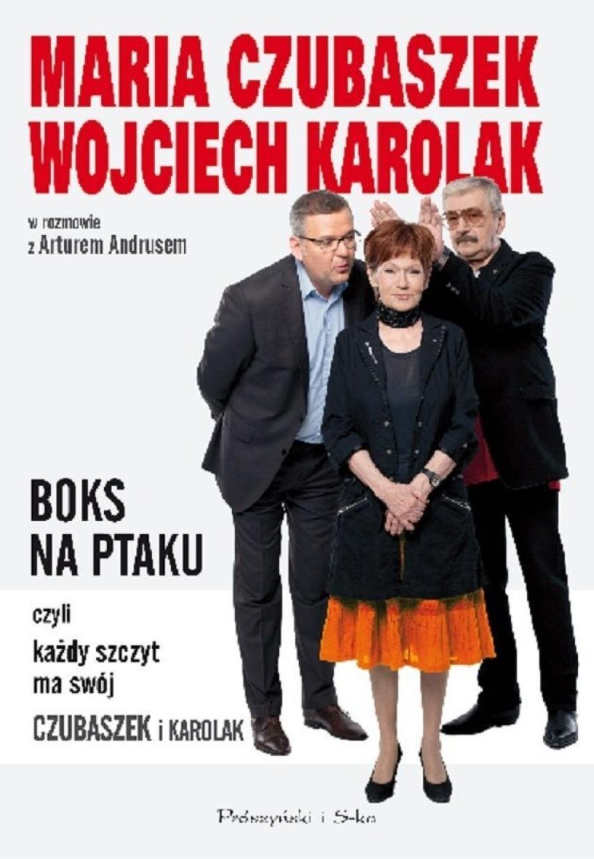 Znalezione obrazy dla zapytania Maria Czubaszek Wojciech Karolak w rozmowie z Arturem Andrusem - Boks na ptaku