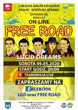 Free Road ze Żnina zagra koncert online [zapowiedź]