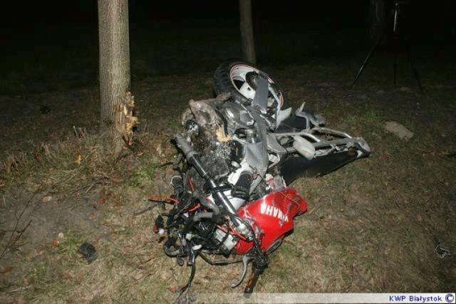 Na krajowej 19. zginął 21-letni motocyklista