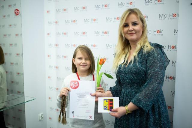 Akcja Daj Włosy w salonie w Chorzowie
