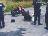 """Pościg za motocyklistą ulicami Zabrza i Rudy Śląskiej. Policjanci musieli strzelać. """"Chciałem sprawdzić, czy uda mi się uciec"""""""