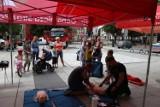 Na wolsztyńskim Rynku można dziś nauczyć się udzielania pierwszej pomocy
