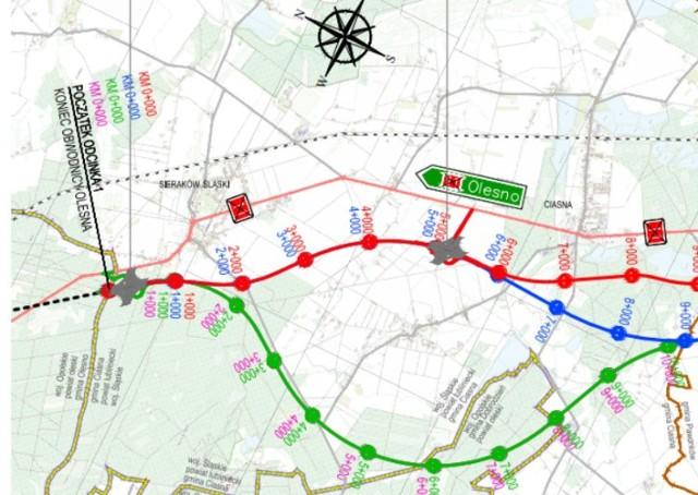 Wojna o przebieg S11 w gminie Ciasna. Wójt krytykuje zwolenników wariantu zielonego