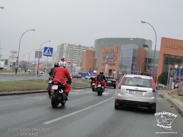 Motomikołaje 2011 W Rzeszowie Warszawa Nasze Miasto