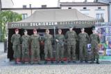 Żołnierze zagościli na skierniewickim rynku. Zachęcali do wstąpienia do armii [ZDJĘCIA]