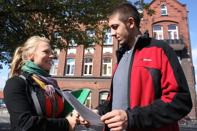 Joanna Pelon szuka wolontariuszy w całym Zawierciu.