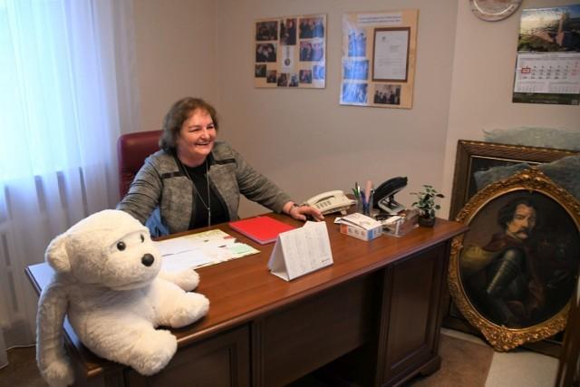 Przez ponad 30 lat gabinet dyrektora zajmowała Grażyna Łęska Baranowicz, niedawno odeszła na emerytyturę.