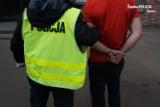 Dwie osoby w szpitalu po ataku nożownika na Zabrzańskiej