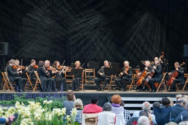 22.08.2018  Gdańsk. Koncert inaugurujący Międzynarodowy Festiwal Mozartiana w Parku Oliwskim