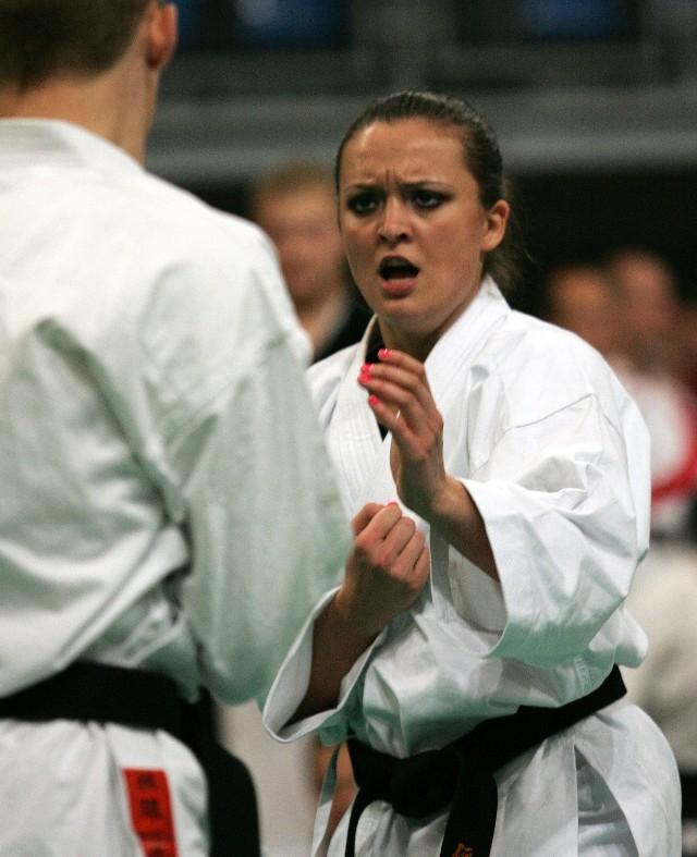 Justyna Marciniak (Lubelski KKT) była największą gwiazdą mistrzostw Polski w Biłgoraju