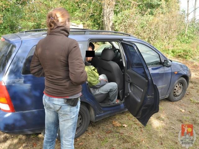 """Policjanci odkryli """"dziuplę"""" samochodową i zatrzymali trzech ..."""
