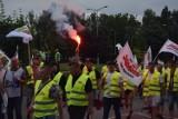 Protest przed siedzibą JSW. Związkowcy zarzucają zarządowi działanie na szkodę spółki. Żądają natychmiastowych zmian