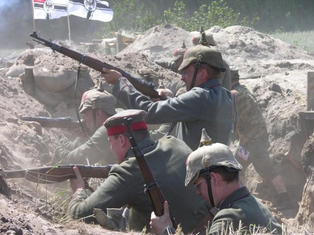Rekonstrukcja bitwy pod Bolimowem z 1915 roku