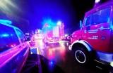 Nocna akcja strażaków. Pożar budynku przy ul.Piłsudskiego w Limanowej