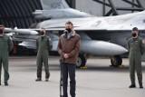 Lotnisko w Łasku będzie bazą dla samolotów F35. Minister Błaszczak w 32 Bazie Lotnictwa Taktycznego ZDJĘCIA