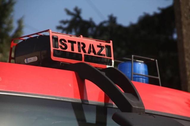 Straż pożarna w Jastrzębiu pomogła chorej kobiecie