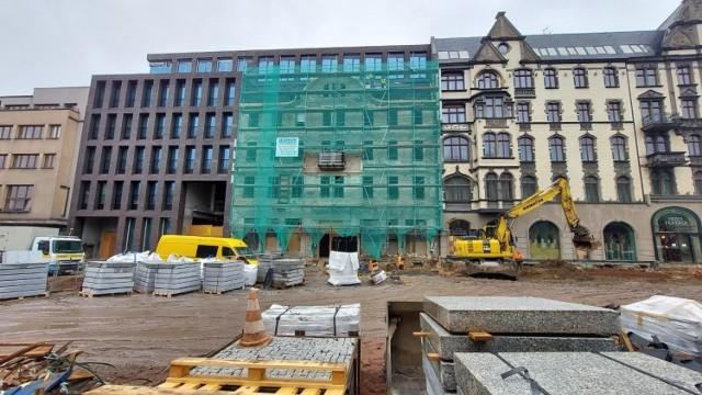 Trwa rozbudowa hotelu Diament w Katowicach