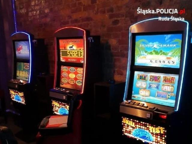 Policjanci rozbili w Rudzie Śląskiej nielegalny salon gier