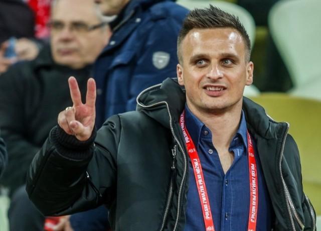 Sławomir Peszko jest 44-krotnym reprezentantem Polski, uczestnikiem ME 2016 i MŚ 2018; w Wieczystej Kraków gra od połowy 2020 r.
