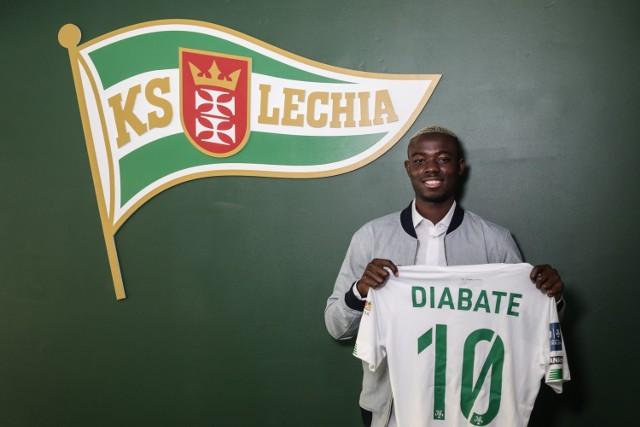 Bassekou Diabate związał się z Lechią Gdańsk umową do końca sezonu 2021/2022