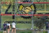 Jastrzębie-Zdrój: mural już gotowy. 16 metrów wysokości, 10 metrów szerokości. Dzieło robi wrażenie