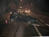 Wypadki drogowe w Raczkach  i Suwałkach [zdjęcia]